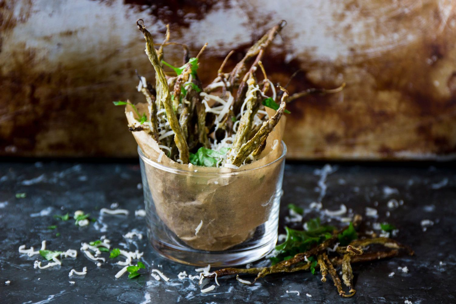 Haricots verts pommes